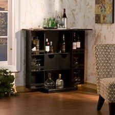 Folding Home Bar Cabinet Folding Bar Ebay
