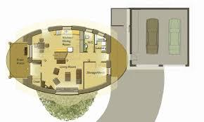 round garage plans round house plans floor modern hobbit google search detached garage