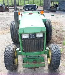 john deere 650 utility tractor item j5891 sold august 1