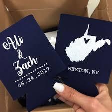 wedding can koozies best 25 wedding koozies ideas on personalized wedding