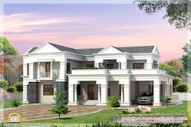 Indian House Designs And Floor Plans by Latest Indian Style 3d House Elevations Kerala Home Design And