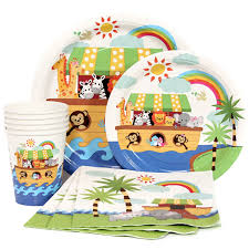1st birthday party supplies noah s ark 1st birthday party supplies at dollar carousel