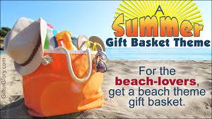 summer gift basket summer gift basket ideas