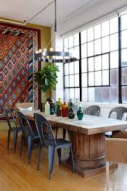 Funky Dining Room Tables 39 Original Boho Chic Dining Room Designs Digsdigs