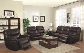 Leather Reclining Sofa Set by Brown Leather Reclining Sofa Steal A Sofa Furniture Outlet Los