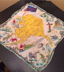 World Map Tablecloth by My Pretty Baby Cried She Was A Bird Vintage Travel Souvenir