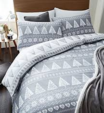 amazon com signature home french bird toile duvet cover set with