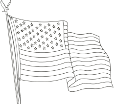 Black And White Us Flag Free Printable Us Flags U0026 American Flag Color Book Pages