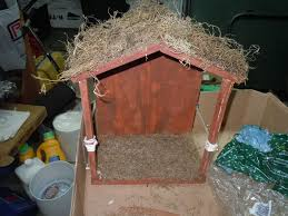 how to make a nativity stable 8 steps