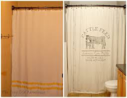 Feed Sack Curtains The Cozy Farmhouse Painter S Dropcloth Becomes Diy Grain
