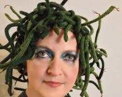 Medusa Halloween Costumes Medusa Knit Hat Pattern Halloween Costume