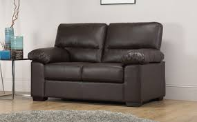 Brown Leather Sofas by Verona Leather Sofa Suite 3 2 Seater Brown Only 449 98