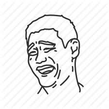 Yao Ming Face Meme - crazy emotion funny meme pff reaction yao ming icon icon