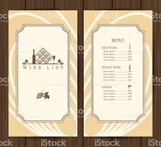 wine menu template stock vector art 467918222 istock