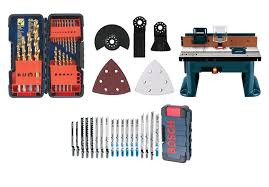 bosch router table accessories bosch tool accessories 57 off and more drill bits tools blades