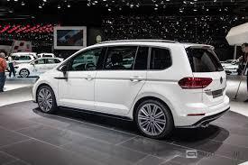 vw minivan 2015 foto beurzen geneve 2015 volkswagen touran r line volkswagen