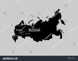 russia football map eps 10 vector russia map isolated stock vector 665805880