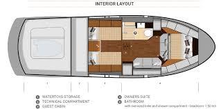 Interior Layout Keizer 42 Keizer Yachts