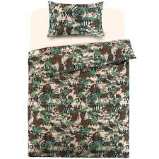 girls camouflage bedding children teenage kids boys girls single quilt duvet cover bedding