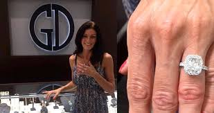 henri daussi engagement rings amanda s new henri daussi ring marriage proposals cushion