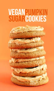 cookies for thanksgiving recipes vegan pumpkin sugar cookies minimalist baker recipes
