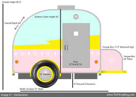 Teardrop Camper With Bathroom I Found The Place Formerly The Flirty Blog Design Plans For My