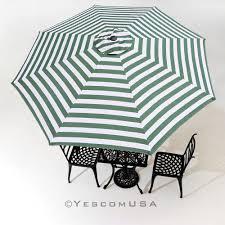 Black And White Striped Patio Umbrella by Patio Furniture 51 Amazing Green And White Striped Patio Umbrella