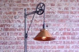 Pulley Floor Lamp Floor Lamps U2013 Peared Creation