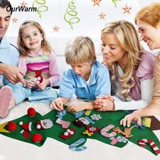 kids diy felt christmas tree decorations christmas gifts wall