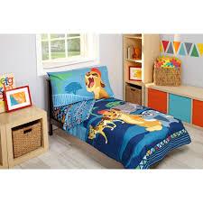 Portable Crib Bedding Sets For Boys by Disney Lion Guard Wild Team Toddler Bedding Set 4 Piece Walmart Com