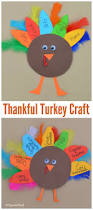 thankful turkey kid craft and book thanksgiving craft and