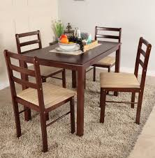 4 Seater Dining Table And Chairs Eye Catching Woodness Solid Wood 4 Seater Dining Set Price In