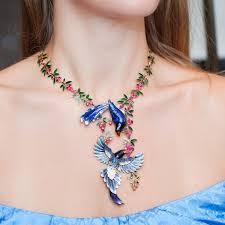 jewelry fashion necklace images Fazulzyanov intricate enamel jewellery annoushka london jpg