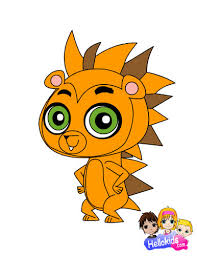 littlest pet shop hub images russell coloring