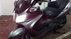 suzuki an 650 burgman abs executive 2008 youtube