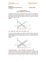 Chp 180 by Exercise 09 Key1 Supply Economics Tariff