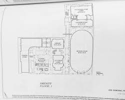 Common House Floor Plans by 220 Central Park South Ground Floor Amenities Floor Plan