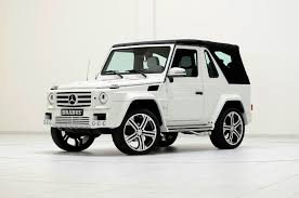 mercedes benz g class white interior brabus widestar package for g500 cabrio with unreal interior