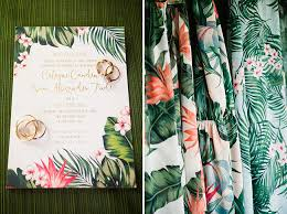 Do It Yourself Wedding Invitation Kits Wordings Tropical Wedding Invitation Tropical Wedding Invitation