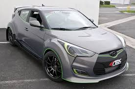 hyundai veloster turbo matte black ark c fx wide body kit veloster