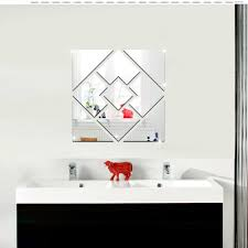 Decoration Geometric Wall Decals Home by Mirror Wall Stickers Picture More Detailed Picture About Funlife