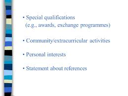 prepare an effective resume 1 summary of your qualifications and