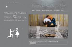 wedding invitation websites stephen s wedding website and invitation personal