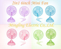 Small Metal Desk Fan 6