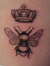 lovely queen bee and lipstick tattoos in 2017 real photo