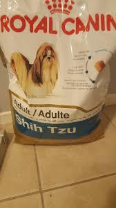 shih tzu dry dog food royal canin breed health nutrition