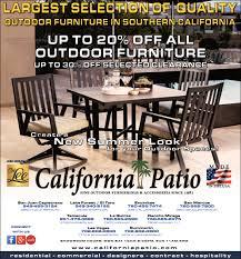 California Patio Furniture Selection Of Quality California Patio La Quinta Ca