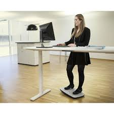 Sitting To Standing Desk by Product Vctst570 Victor Steppie Balance Board The Healthy