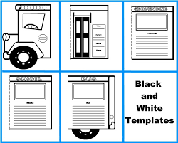 bus book report project templates worksheets grading