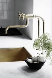outstanding unlacquered brass kitchen faucet verambelles